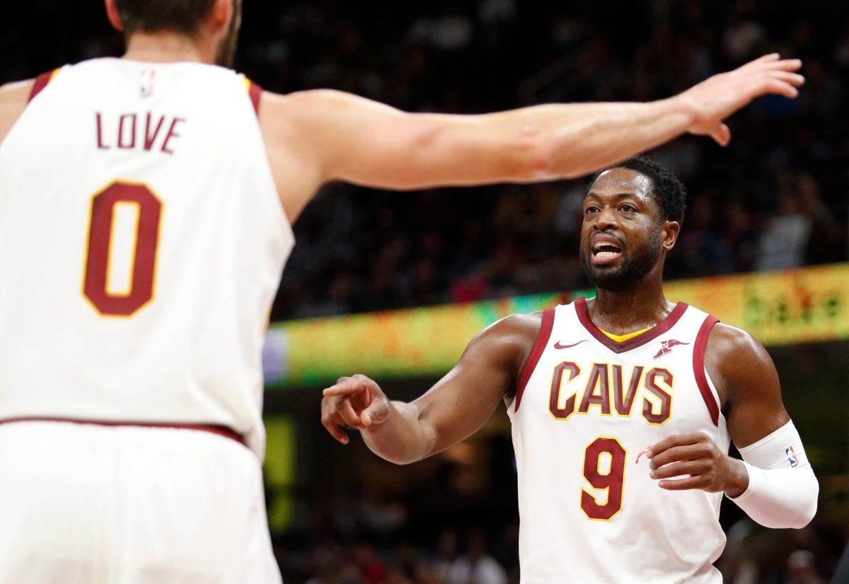 Dwyane Wade: Moving To Cavaliers Bench Is Best For The Team